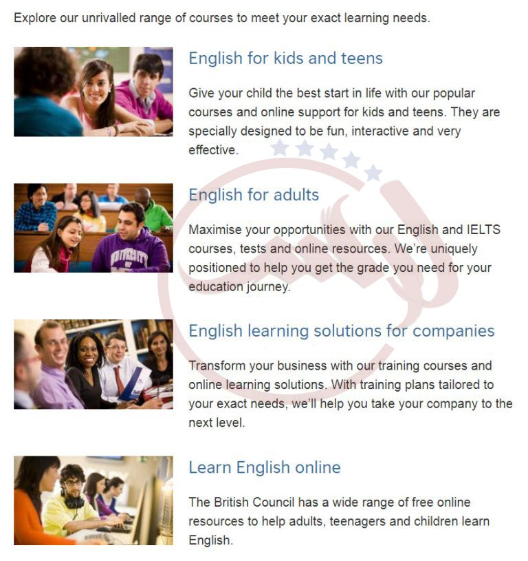 بهترین وب سایت های آموزش انگلیسی