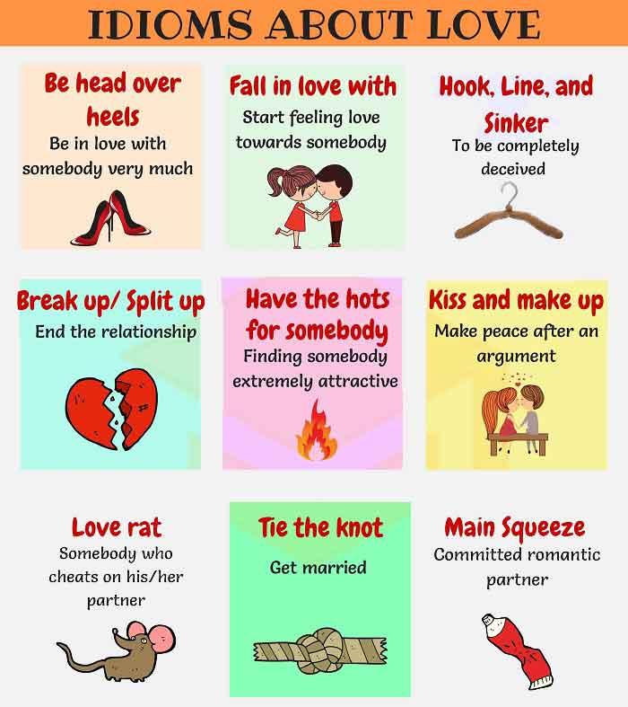 اصطلاحات عاشقانه انگلیسی